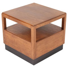 Oak Art Deco Haagse School Coffee Table by Willem Penaat for Metz & Co, 1930