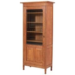 Oak Art Nouveau Arts & Crafts Bookcase by Willem Penaat, 1900s