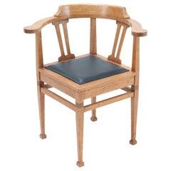 Art Nouveau Corner Chairs