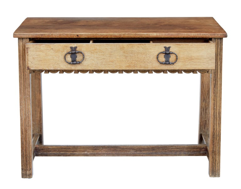Arts and Crafts Oak Arts & Crafts Low Writing Table