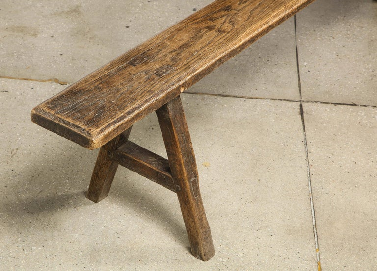 18th Century Oak Bench For Sale