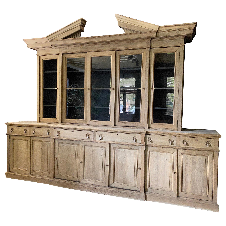 Oak Bookcase, Belgium in Bleached Oak