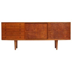 Oak Cabinet by Hans J. Wegner for Johannes Hansen