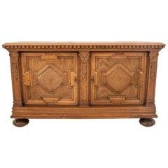 Oak Cabinet, Northern Europe, circa 1920