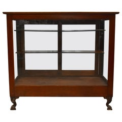 Oak Candy Store Display Case