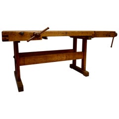 Oak Carpenter's and Joiner's Work Bench