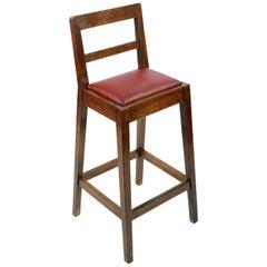 Oak Clerk's High Chair