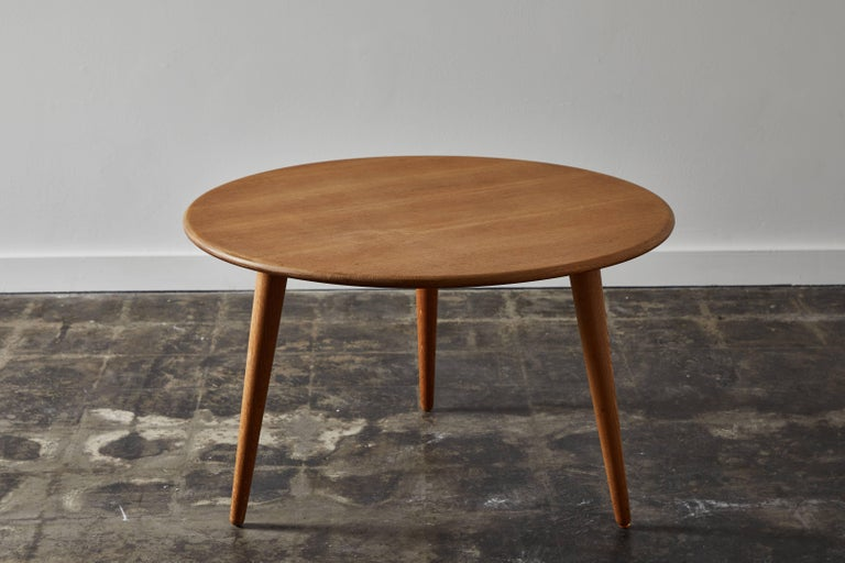 Oak Coffee Table by Hans J. Wegner for Andreas Tuck In Excellent Condition For Sale In Los Angeles, CA
