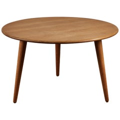 Oak Coffee Table by Hans J. Wegner for Andreas Tuck