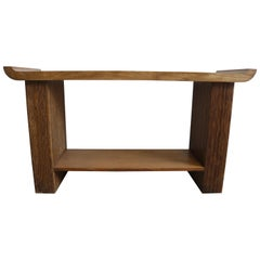 Oak Console or Sofa Table by Paul Frankl for Brown Saltman