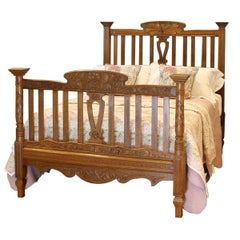 Oak Country Bed WD31