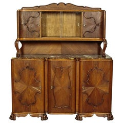 Oak Cupboard from the Interwar Period