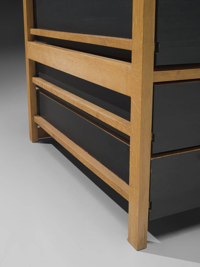 Benedikt Rohner for Oswald Oak Executive Desk For Sale 2