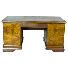 Oak Desk from the Interwar Period