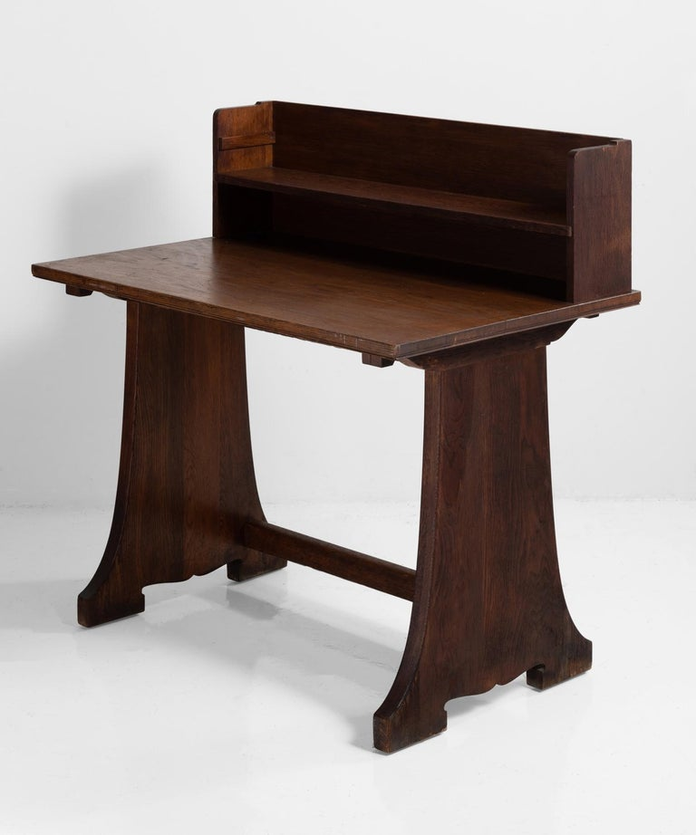 """With privacy riser and shelf.   Measures: 42"""" W x 28"""" D x 42.25"""" H."""