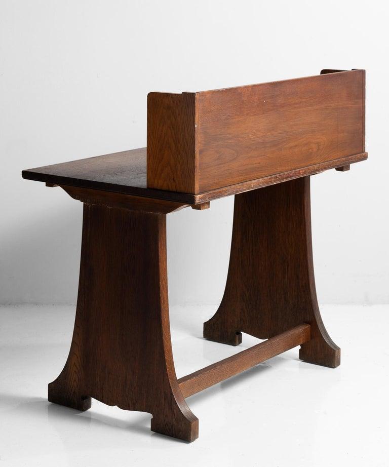 American Oak Desks from Harvard Divinity School For Sale