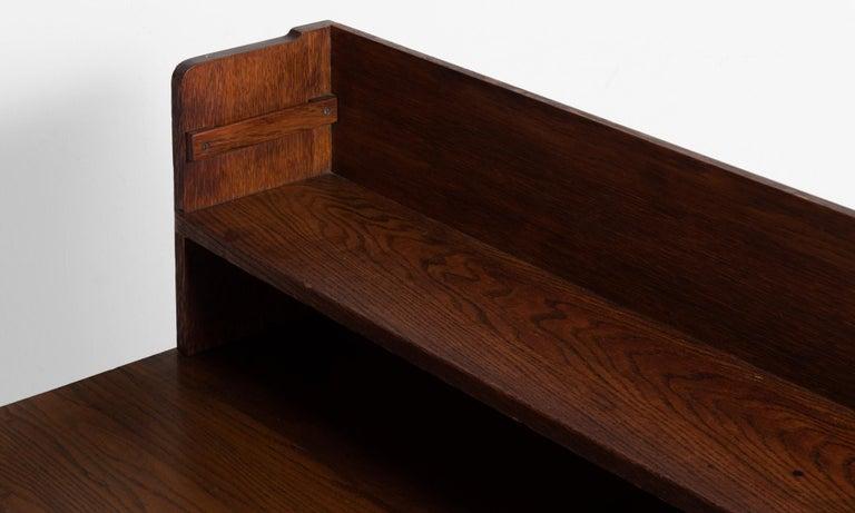 Oak Desks from Harvard Divinity School In Good Condition For Sale In Culver City, CA