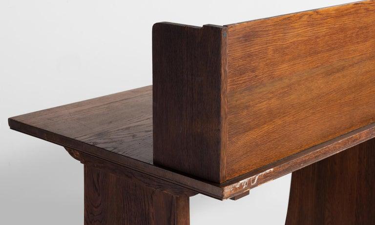 20th Century Oak Desks from Harvard Divinity School For Sale