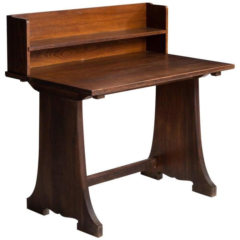 Oak Desks from Harvard Divinity School For Sale