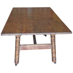 Oak Dining Table by Phillip Webb for Morris & Co., circa 1865-1870