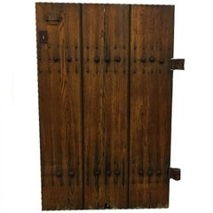 Oak Door from the Church O.L. Vrouw van Lourdes, Scheveningen, the Haque 'NL'