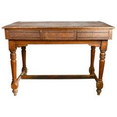 Oak Five Foot Standing Desk