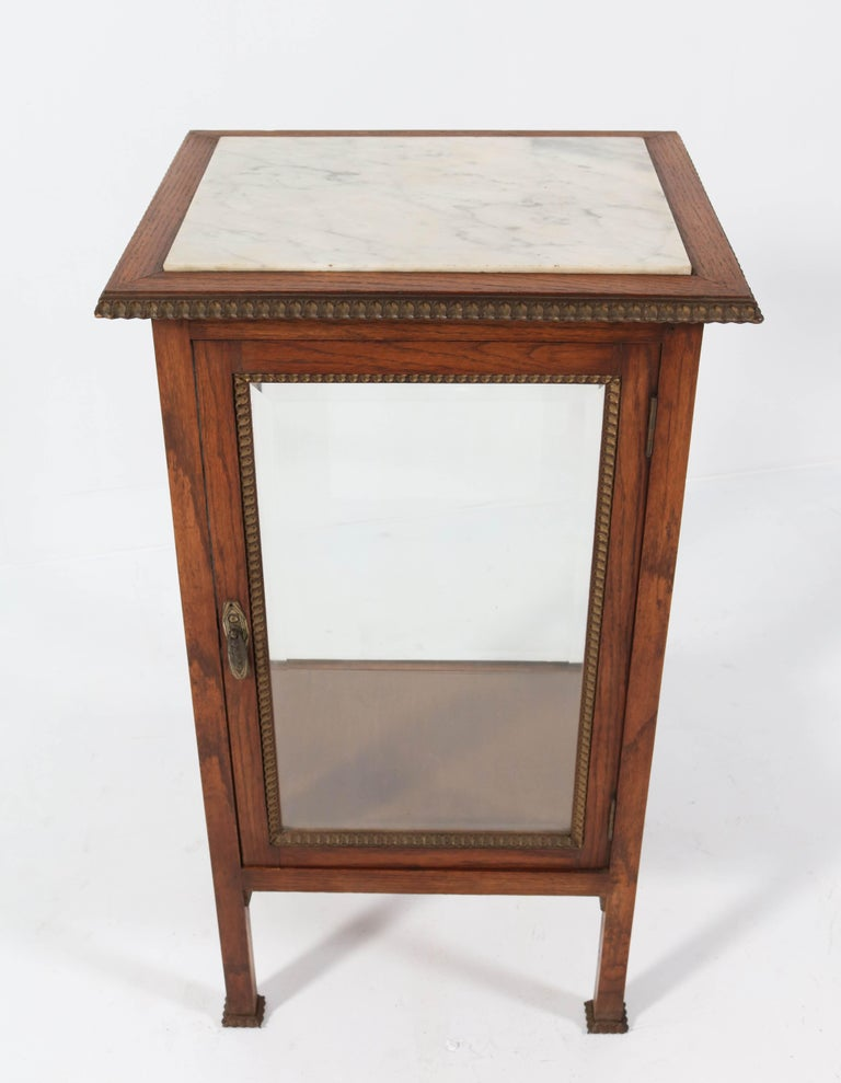 Wonderful and rare Art Deco display cabinet.