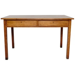 Oak French Table, circa 1930