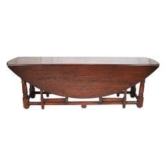 Oak Gate Leg Table, circa 1930
