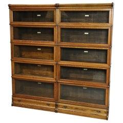Oak Globe Wernicke Bookcase