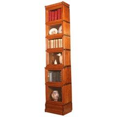 Oak Globe Wernicke Stacking Bookcase 6 Small Elements