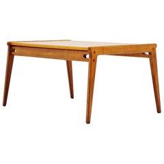 Oak Hunting Coffee Table, Sweden, 1960