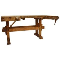 Oak Joiner's Workbench