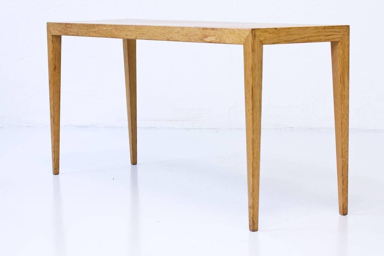Oak Nesting Tables By Severin Hansen, Denmark For Sale 2