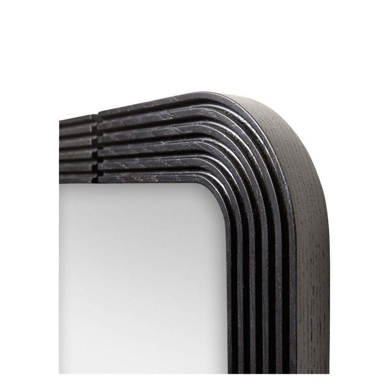 Mid-Century Modern Oak Ojai Floor Mirror by Lawson-Fenning For Sale