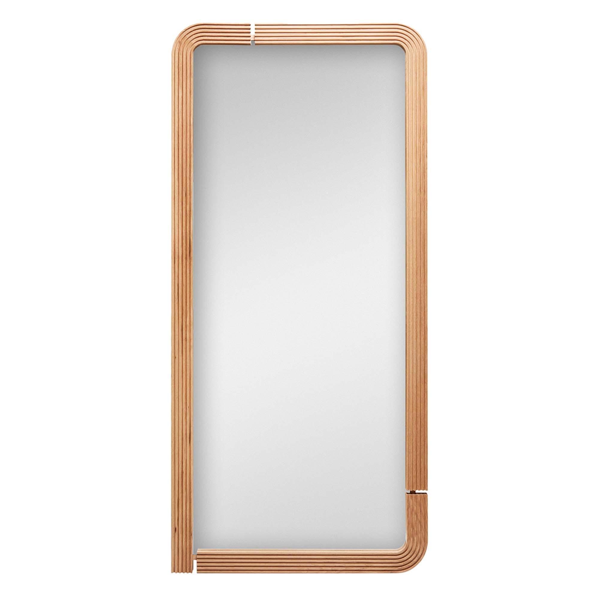 Oak Ojai Floor Mirror by Lawson-Fenning
