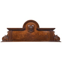 Oak Overdoor Pediment