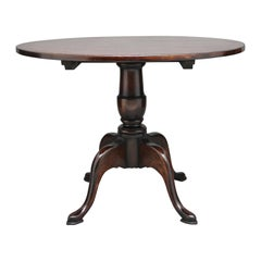 Oak Quad Base Pedestal Table