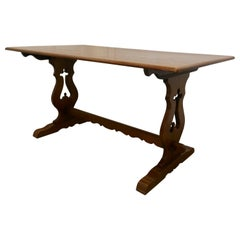 Oak Refectory Table by Old Charm