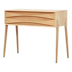 Oak Side Table by Rimbert Sandholdt for Glas & Trä Hovmantorp, 1950s