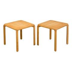 Oak Side Tables by Karl Andersson & Sõner, Scandinavian Midcentury