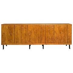Oak Sideboard by Jean Touret