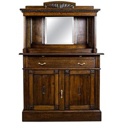 Oak Sideboard from the Interwar Period