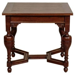 Oak Small Table, circa 1920