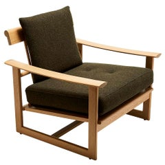 Oak Spindle Back Inverness Chair by Lawson-Fenning