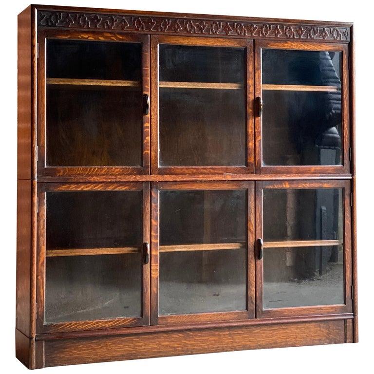 Oak Stacking Bookcase by Gunn, USA, 1920