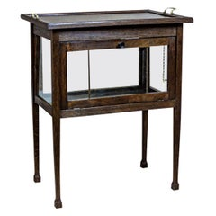 Oak Tea Cabinet from the Early 20th Century