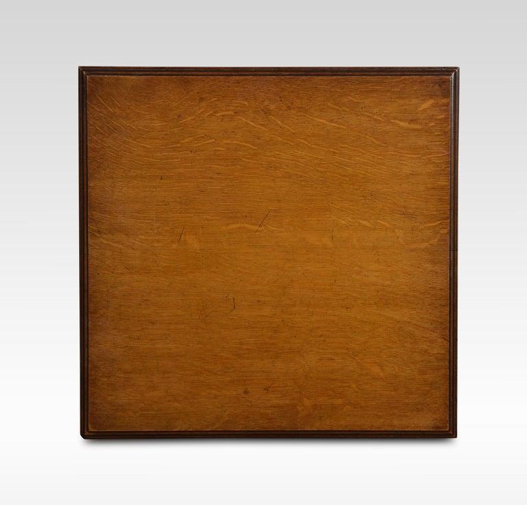 Oak Three-Tier Revolving Bookcase For Sale 1