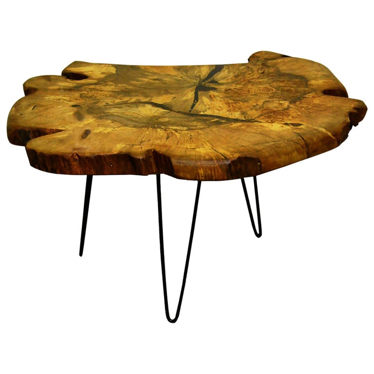 Hairpin Leg Coffee Table Live Edge - Coffee Table Design Ideas