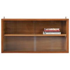 Oak Vitrine Cabinet from France, 1950s
